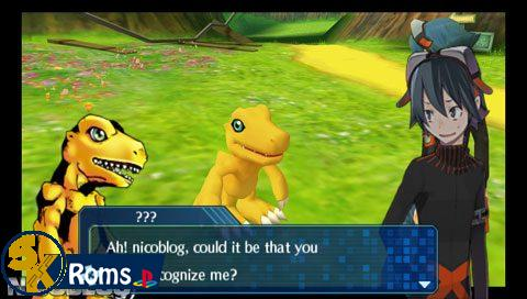 Digimon World Re:Digitize (English Patched) PSP ISO Free