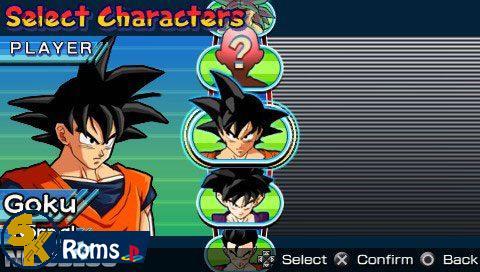 Dragon Ball Z: Shin Budokai (USA) PSP ISO Free Download