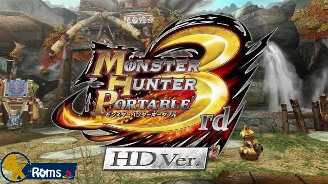 Monster Hunter Portable 3rd HD ver  English Patched PSP ISO