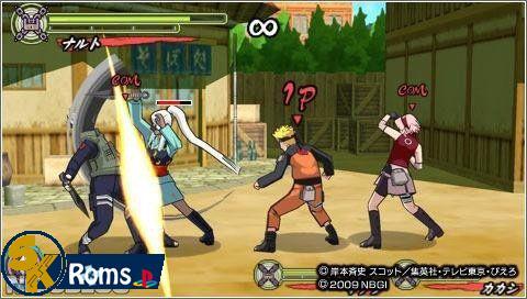 Naruto Shippuden: Ultimate Ninja Heroes 3 (USA) PSP ISO Free