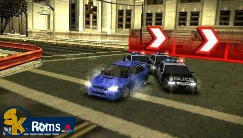 Need for Speed: Most Wanted 5-1-0 (Europe) PSP ISO Free Download