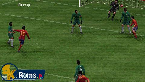 Pro Evolution Soccer 2014 (Europe) PSP ISO Free Download