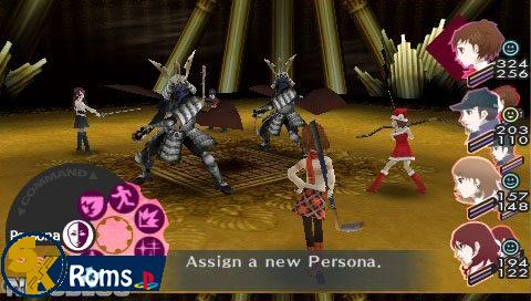 Shin Megami Tensei: Persona 3 Portable (USA) PSP ISO Free Download