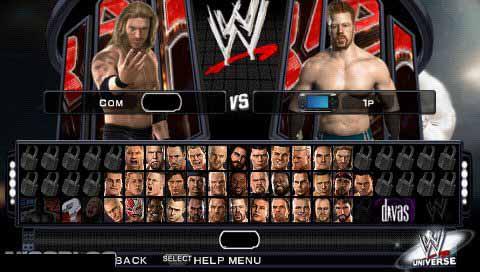 WWE SmackDown! vs. RAW 2011 (Europe) PSP ISO Free Download