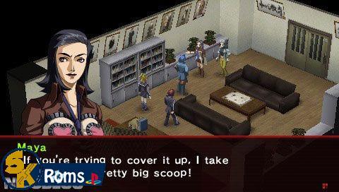 Persona 2: Innocent Sin (USA+UNDUB) PSP ISO Free Download