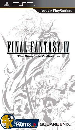 Final Fantasy IV: Complete Collection (USA) PSP ISO Free Download