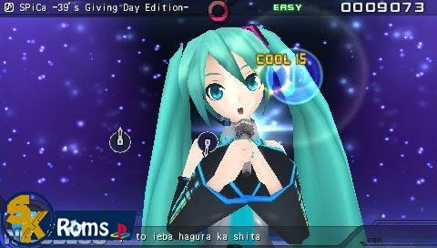 Hatsune Miku: Project Diva Extend (English Patched) PSP ISO