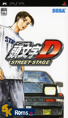 Initial D: Street Stage (Japan) PSP ISO Free Download