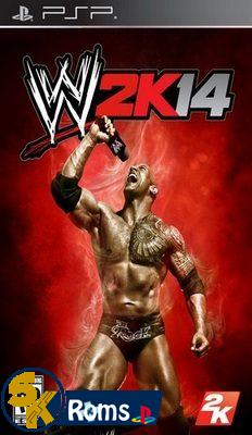 WWE SmackDown! vs  RAW 2K14 (Mod by Shahzad) PSP ISO Download