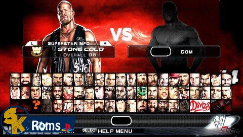 WWE SmackDown! vs. RAW 2K14 (Mod by Shahzad) psp android 5kroms