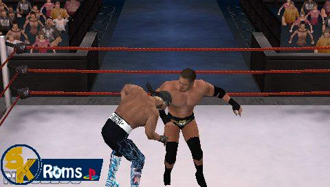 WWE SmackDown! vs. RAW 2K14 (Mod by Shahzad) psp iso 5kroms