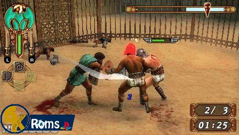Gladiator Begins (USA+DLC) psp iso 5kroms