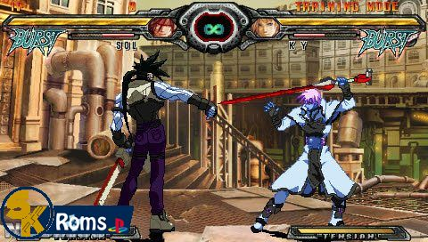 Guilty Gear XX Accent Core Plus (USA) psp android 5kroms