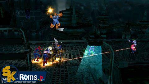 Marvel Ultimate Alliance (USA) psp android 5kroms