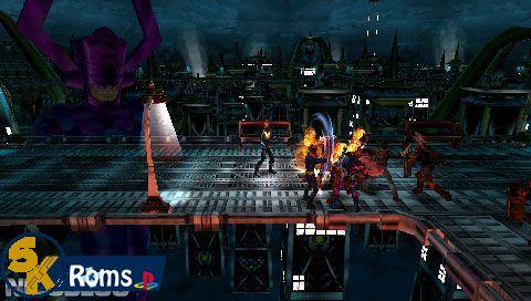 Marvel Ultimate Alliance (USA) psp iso 5kroms