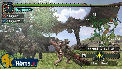 Monster Hunter Freedom 2 (Europe) psp android 5kroms