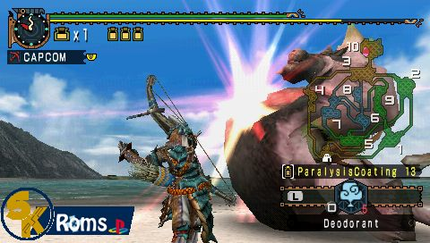 Monster Hunter Freedom 2 (Europe) psp iso 5kroms