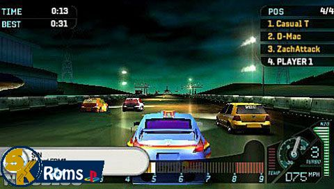 Need for Speed Underground Rivals (USA) psp android 5kroms