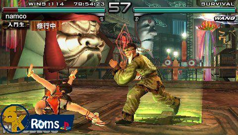Tekken Dark Resurrection Usa Psp Iso Free Download