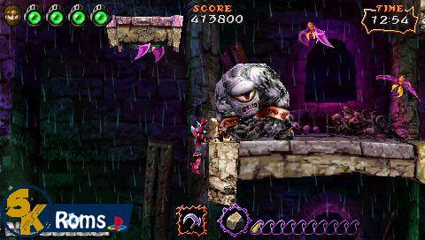 Ultimate Ghosts 'n Goblins (Europe) psp iso 5kroms
