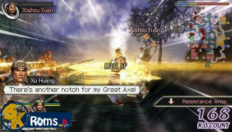 Warriors Orochi (Europe) psp android 5kroms